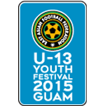 EAFF U-13 Football Festival in Guam 2015.