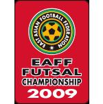 EAFF Futsal Championship 2009 in China. WINNER.