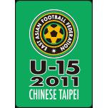 U-15 team tournament in Chinese Taipei 2011 WINNER.