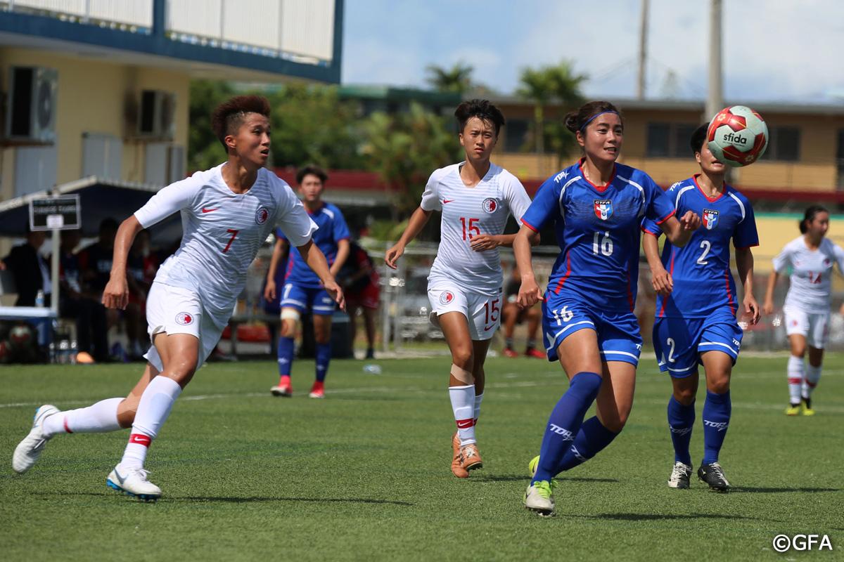 Chinese Taipei vs Hong Kong
